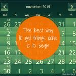 Plannen…studeren en agenda's